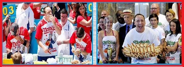 День Хот-Дога в США Фестиваль по поеданию хот-догов
