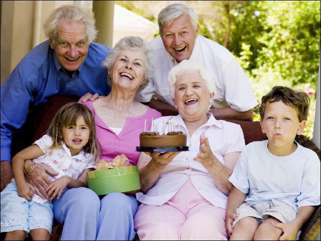 День бабушек и дедушек в Америке.