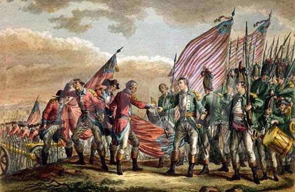 Война за независимость США. 1775-1783 годы.