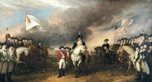 Капитуляция англичан при Йорктауне