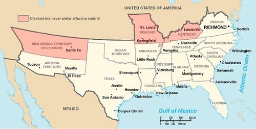 Конфедеративные Штаты Америки
