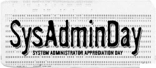 День Системного Администратора SysAdminDay