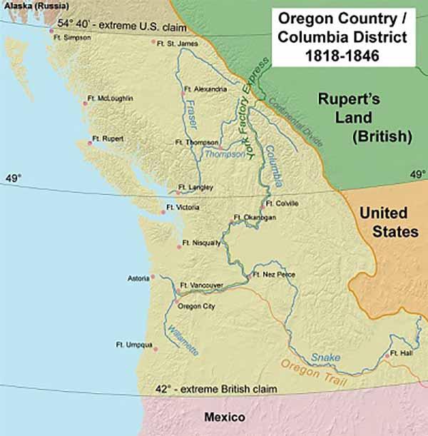 Орегонские земли
