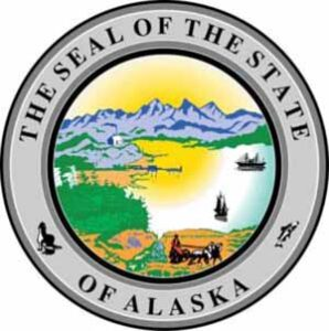 Печать штата Аляска